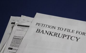 Can you file bankruptcy on court fines?